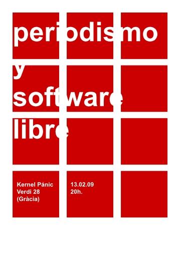 Periodismo y Software Libre